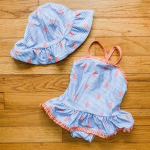 GYMBOREE RUFFLE BATHING SUIT